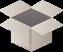 ikone einer verpackung